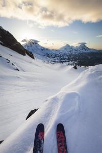 Skiing, Backcountry Skiing, Skier, Backcountry Skier, Three Sisters, Winter Wonderland, Broken Top, Bend Skiing