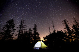 Camp, Camping under Stars, Elk Mountain, Coast Range, Tillamook, Portland, Oregon