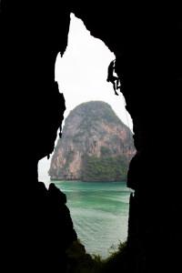 Rock climbing, Thailand, Railay, Tonsai, Climbing