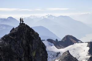 Summit, Success, Adventure, Friends, Mountains, Coast Range, British Columbia
