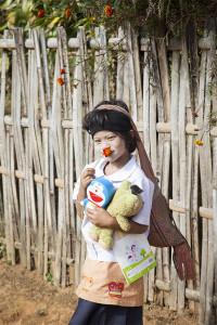 Thailand, hilltribe, child, Thai