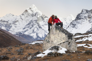 Love, romantic, Everest Trek, Ama Dablam, romance
