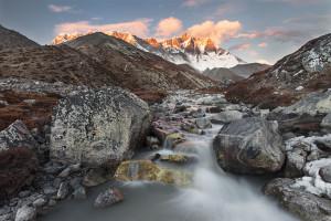 Nepal, Everest Base Camp, Lhotse, Himalaya, Himalayas, Mountain, Mountains, Sunset