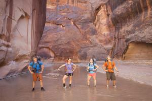 Group Pose, Paria Canyon, Backpacking, Band Photo