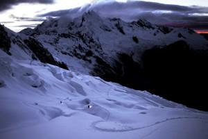 Mountaineering, Mountain Climbing, Alpine Climbing, Cordillera Blanca, Andes, Peruvian Andes, Peru, Huaraz, Cold Morning, Sunrise, Dawn