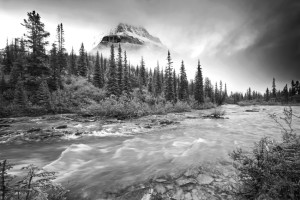 Wilderness, Mt. Robson, Robson Provincial Park, Rocky Mountains, Canadian Rockies, Mountain