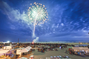 Fireworks on the Oregon Coast