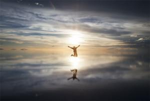 Joyous, Joy, Celebration, Salar de Uyuni, Bolivia, Travel, Adventure
