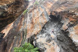 Rock Climbing, Sharp End, Thailand, Railay, Tonsai, Krabi, Lead Climbing, Sport Climbing