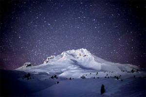 Stars, Starry Night, Mt. Hood, Timberline, Magic