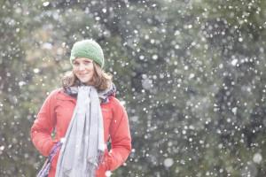 Beautiful Girl, Snowfall,