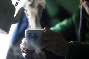 Tea, Camp, Cozy, Steam, Hot Tea, Comfort