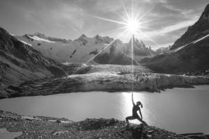 Yoga, Outdoor Yoga, Goddess, Cerro Torre, Women's Empowerment, Power